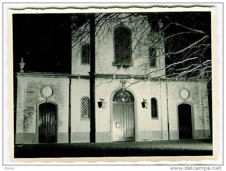 Originele Foto Photo Berchem Kerk December 1960 (1) Ingang - Lieux