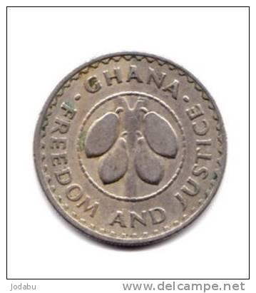 5 Pesewas Du Ghana -1967- - Ghana