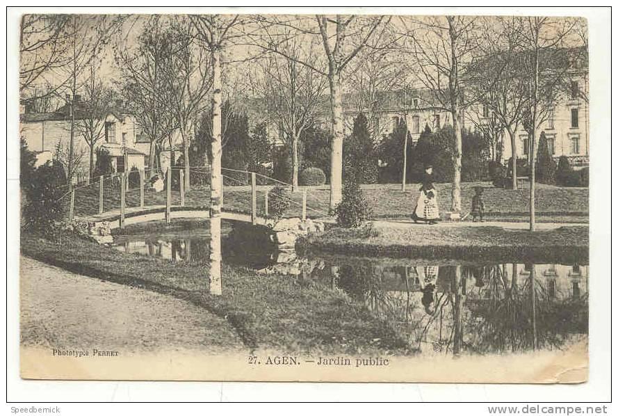 8599 Agen Jardin Public . Perret 27 - Agen