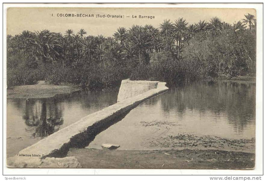 8472 Colomb-Béchar - Le Barrage 1 Coll Idéal PS - Oran
