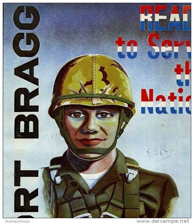 FORT BRAGGS 1973/ 70 PAGES - Forces Armées Américaines