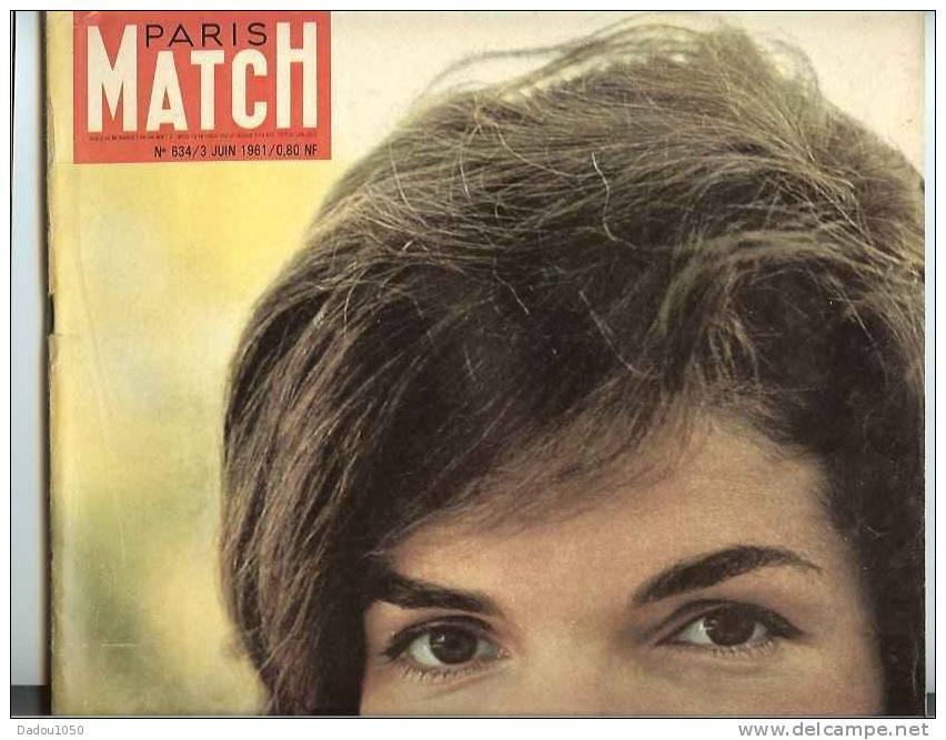 PARIS MATCH 03/06/1961 - Bücher, Zeitschriften, Comics