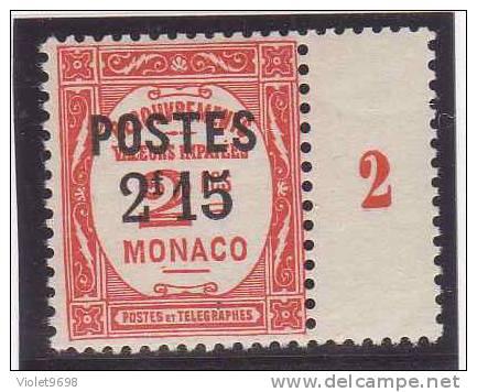 MONACO: TP N° 151 ** - Mónaco