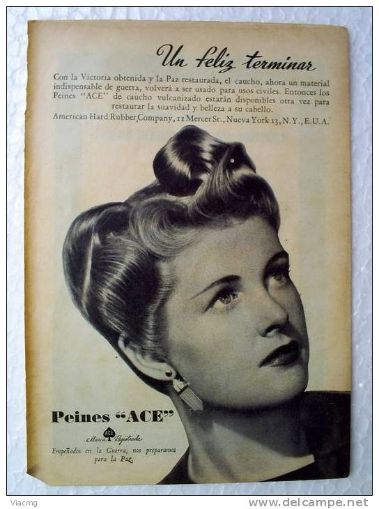 American Hard Rubber Company 1947 - Publicités