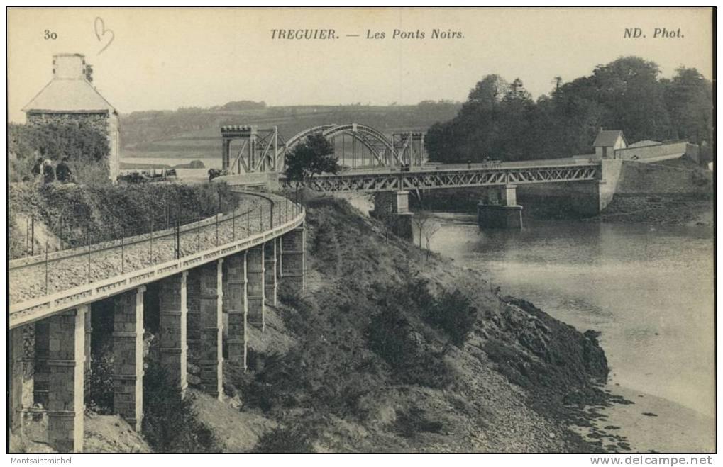 Tréguier. Côtes Du Nord 22. Les Ponts Noirs. - Tréguier