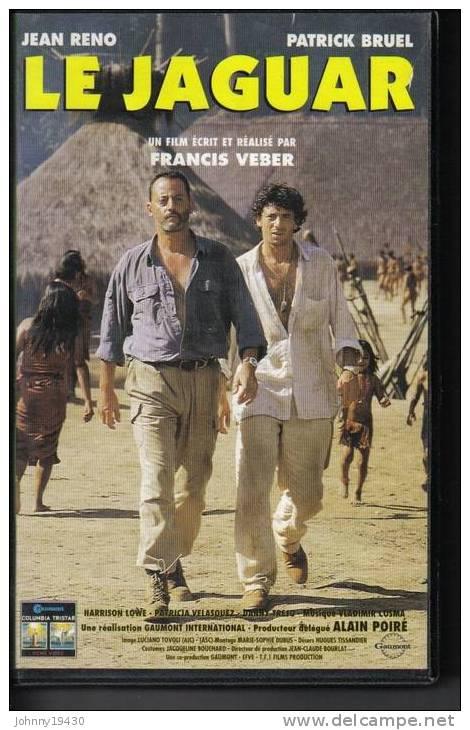 VHS  LE JAGUAR - JEAN RENO / PATRICK BRUEL - Action, Aventure