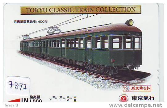 TC  Tram Train (7897) Trein Locomotive Japon Japan - Treinen