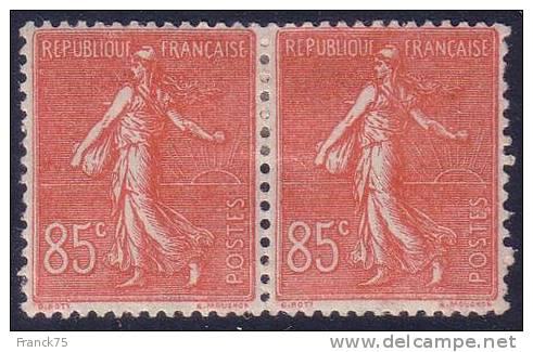 *PROMO* Paire Y&T N° 204 Neufs * TB (Cote +30€) - 1903-60 Semeuse Lignée