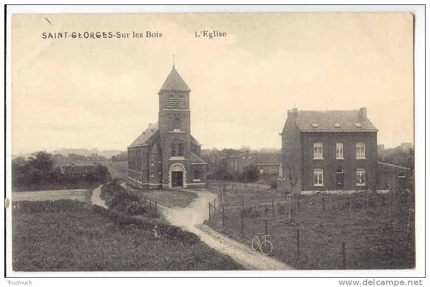 C2321 - SAINT-GEORGES -Sur Les Bois - L' Eglise - Saint-Georges-sur-Meuse