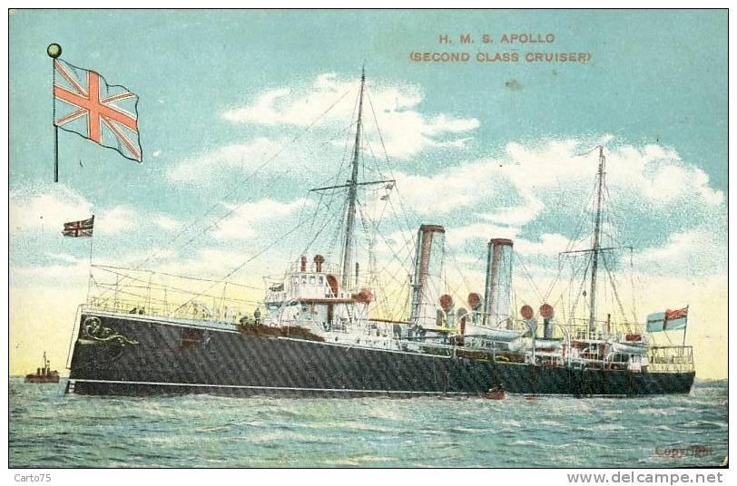 PAQUEBOTS - Marine - H.M.S. APOLLO - Guerra