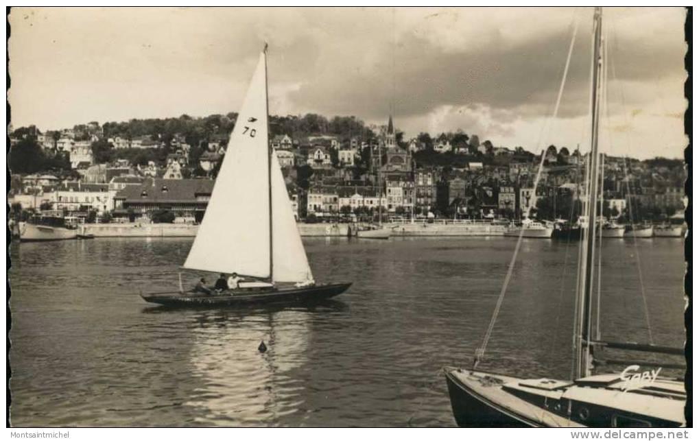 Trouville-Deauville Calvados 14. Le Port Des Yachts. Voiliers Et Divers Bâteaux De Plaisance. - Trouville