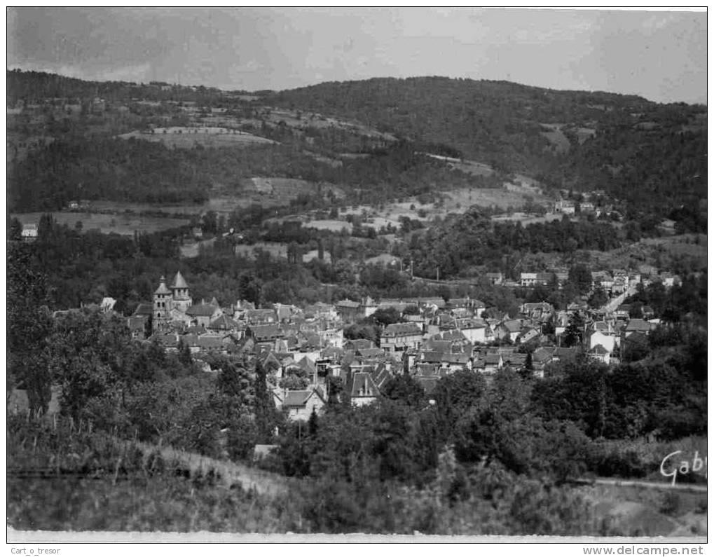 CPSM 19 BEAULIEU-SUR-DORDOGNE - Vue Générale - Other Municipalities