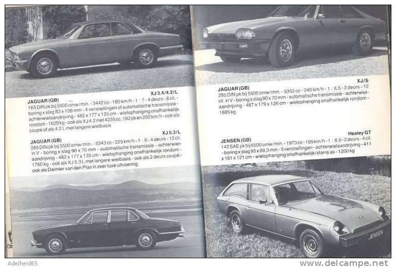 1976, Alle Auto´s, Autos, Auto, Voiture, Car, Voitures, Cars, Wim Oude Weernink, Uitg. De Alk Bv, Alkmaar - Encyclopedieën