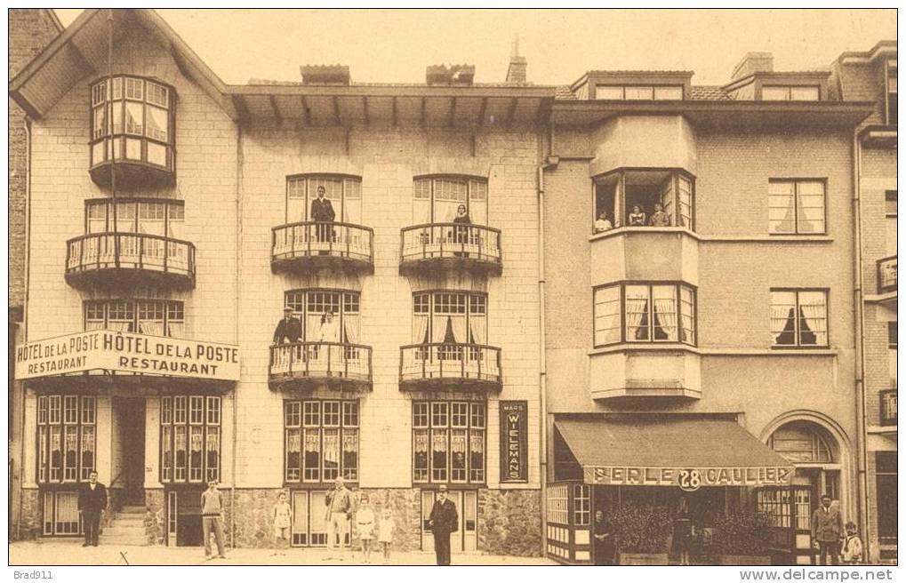 Reklamekaart Middelkerke - Pension Restaurant - Emile Depoorter-Duflou - 1938 - Animatie - Middelkerke