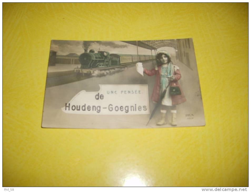 Houdeng-Goegnies Une Pensée De (train) - La Louviere