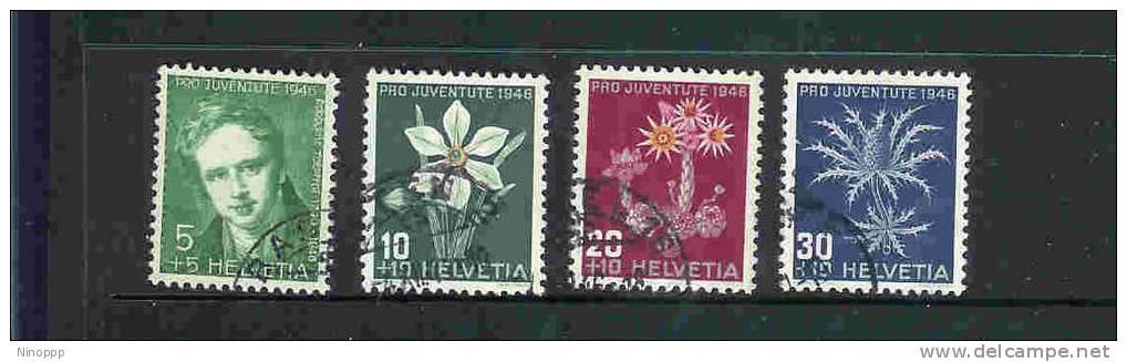 Switzerland-1946 Pro-Juventute Used Set - Pro Juventute
