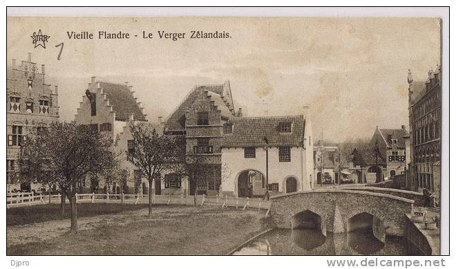 Exposition Universelle  Gand 1913  Vielle Flandre - Gent