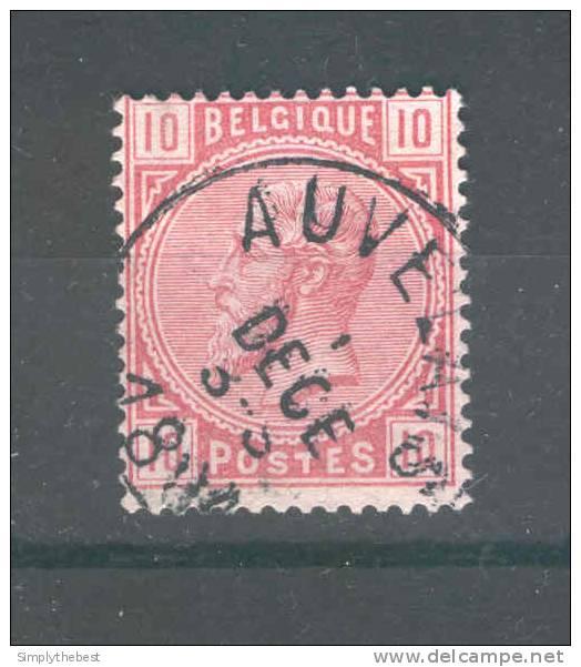 Timbre No 38 Cachet Simple Cercle AUVELAIS   --  GG322 - 1883 Leopold II