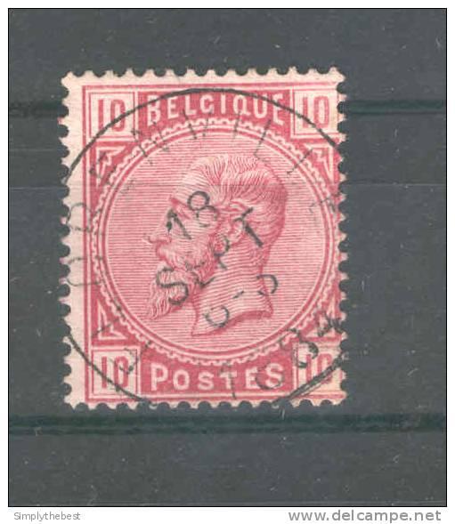 Timbre No 38 Cachet Simple Cercle FLORENVILLE 1884  --  GG327 - 1883 Leopold II