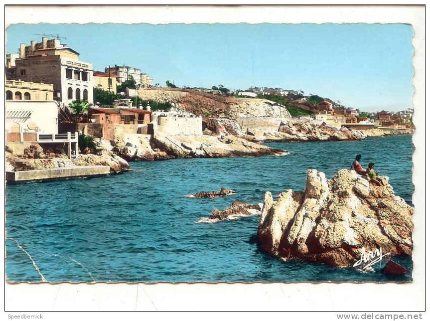 9222 MARSEILLE. La Corniche. Anse De  Maldorme . 460 Tardy . ! état ! - Endoume, Roucas, Corniche, Plages