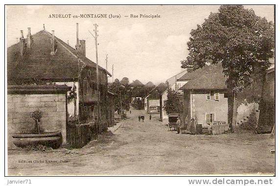 Andelot-en-Montagne : Rue Principale - Unclassified