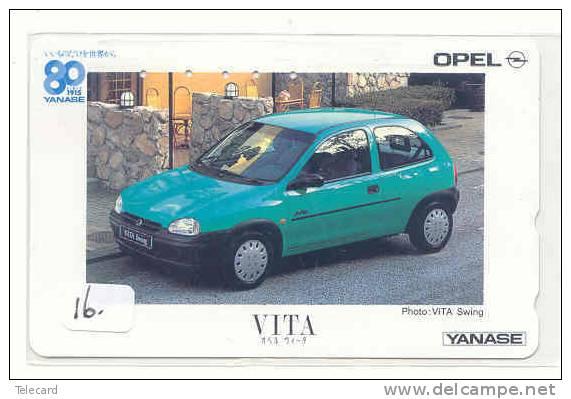 Telefoonkaart OPEL.  Schede Telefoniche OPEL.  Phonecard  OPEL VITA (16) - Auto's