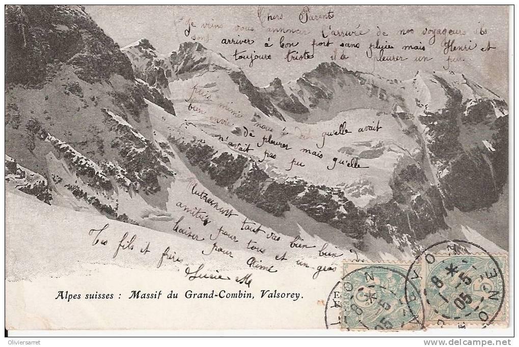 Valsorey Massif Du Grand-combin Alpes Suisse - Switzerland