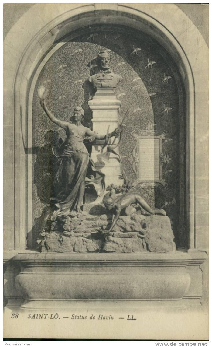 Saint-Lô Manche 50. Statue De Havin. - Saint Lo