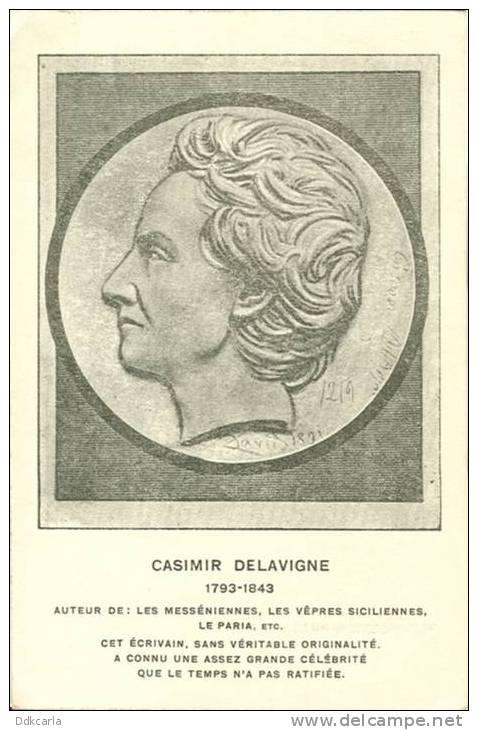 CASIMIR DELAVIGNE 1793-1843 - Filosofia & Pensatori
