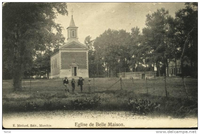 Belle Maison - L'Eglise -1918 - Marchin