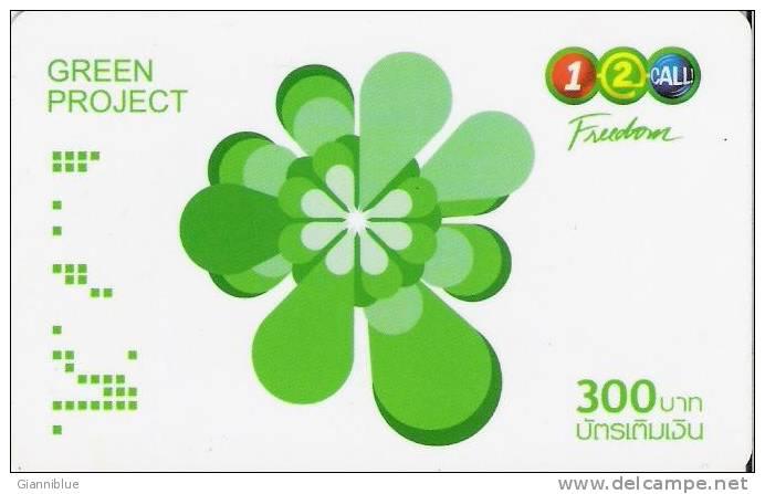 Thailand Prepaid Phonecard - Green Project - Thaïlande