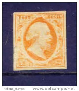 Netherlands Number 3 In Mint (29) Nederland Nummer 3 Ongebruikt. Pays-Bas Numero 3 Inutilisé - Periode 1852-1890 (Willem III)