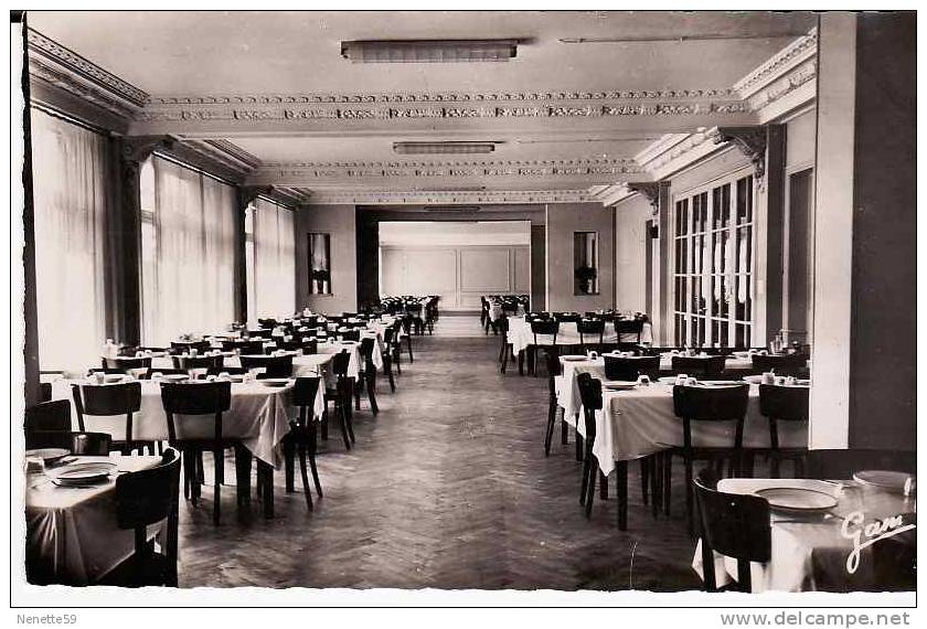 62 BERCK PLAGE CPSM Hôtel Régina Salle Du Restaurant Centre De Congés Payés Des ( Mineurs ) - Berck