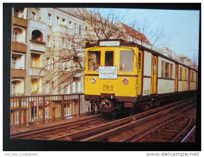 KARTENMOTIV ::  STRASSENBAHNEN   :: AK ~ 1998 * * *   BVG109 - Tramways