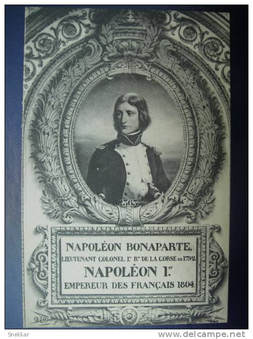 CPA Napoleon- Napoleon Bonaparte . - Characters
