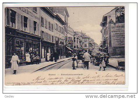 Basel Aeschenvorstadt (2267) Pli D´angle - BS Bâle-Ville