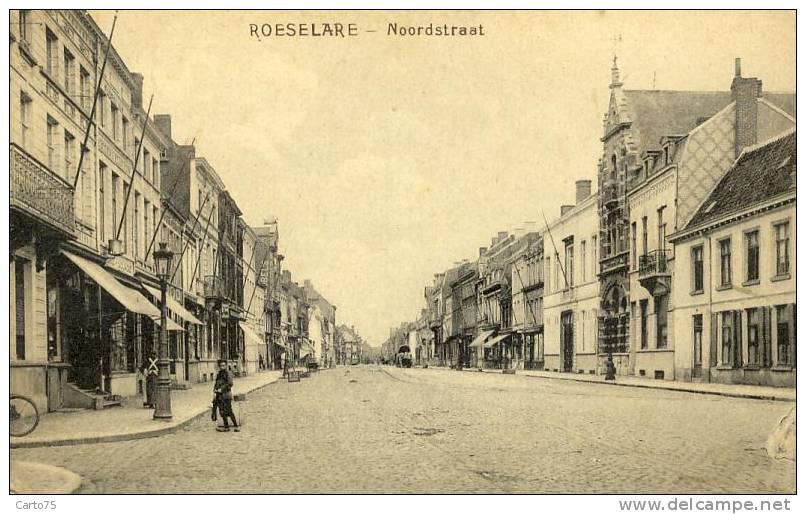 BELGIQUE - ROESELARE - ROULERS - Noordstraat - Roeselare