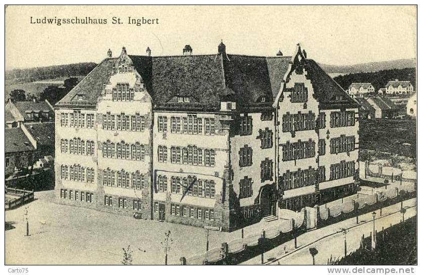 ALLEMAGNE - Ludwigsschulhaus St. Ingbert - Ecole - Saarpfalz-Kreis