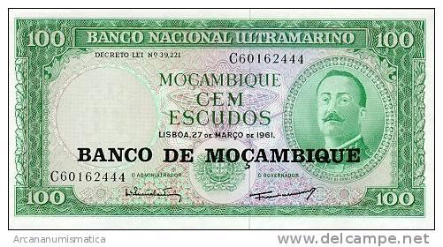 MOZAMBIQUE  100 ESCUDOS(1.976)  27-3-1.961  KM#117  PLANCHA/UNC/SC    DL-2576 - Mozambique