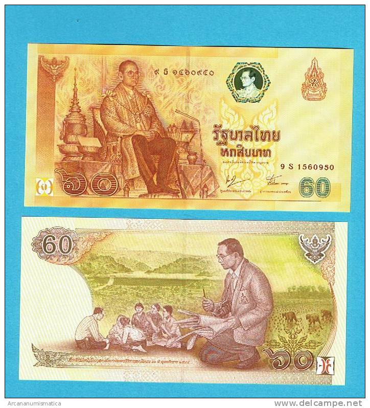 TAILANDIA  60  BAHTS  PLANCHA/UNC/SC    DL-2592 - Tailandia