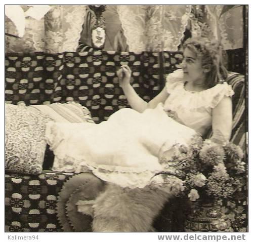 EROTIC 1900 / LOVE´ S  MESSENGER  /  LE  MESSAGE  D´ AMOUR  /  RARE  PHOTOGRAPHIE  STEREO , Par  R.Y. YOUNG  ( 1900 ) - Photos Stéréoscopiques