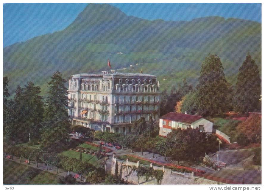 Hôtel Righi Vaudois - Glion S/Montreux (1971) - VD Vaud