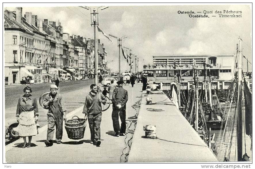 OOSTENDE - OSTENDE - Visserskaai - Quai Des Pêcheurs (215) - Oostende