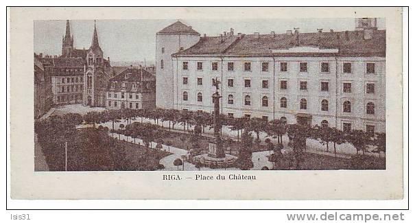 Lettonie - N225 - Riga - Place Du Château - Bon état - Lettonie