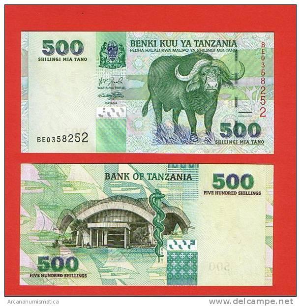 TANZANIA  500  SHILLINGS  KM#35 PLANCHA/UNC/SC    DL-2718 - Tanzania