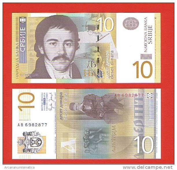 SERBIA  10 DINARES  2006  PLANCHA/UNC/SC    DL-2800 - Billetes