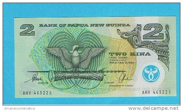 PAPAU NUEVA GUINEA  2  KINA  ND  POLIMERO  PLANCHA/UNC   DL-3194 - Papua Nueva Guinea