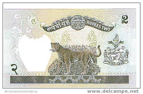 NEPAL,2 RUPIAS 1981 K29 SC   DL-3219 - Nepal