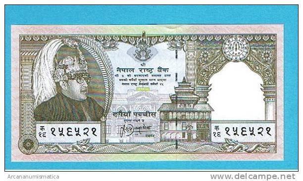 NEPAL  25 RUPIAS  1997  KM#41   PLANCHA/UNC   DL-3237 - Nepal