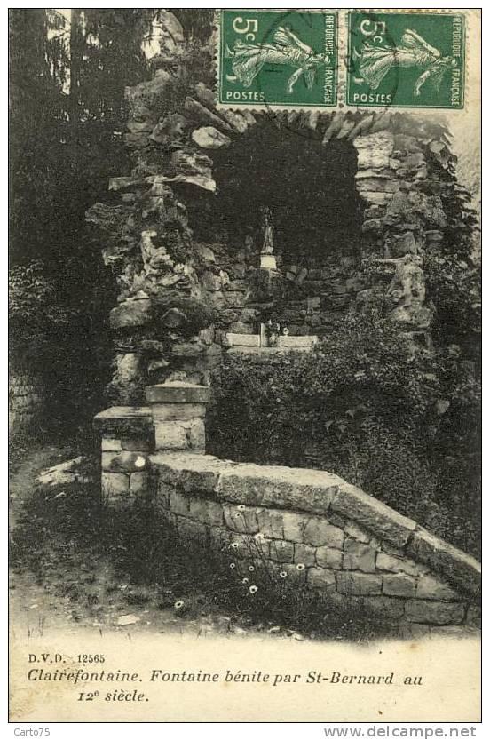 BELGIQUE - CLAIREFONTAINE - Fontaine Bénite Par St-Bernard - Bouillon